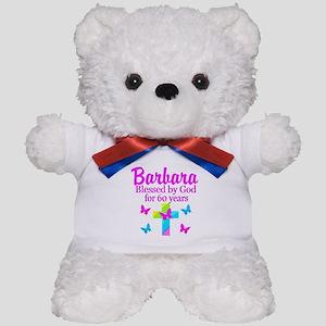 DELIGHTFUL 60TH Teddy Bear