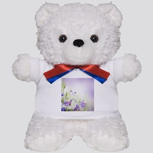Flowers and Butterflies Teddy Bear