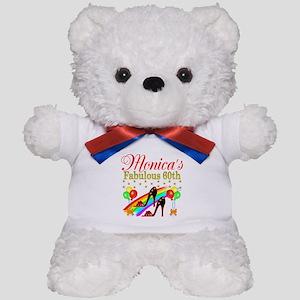 STYLISH 60TH Teddy Bear