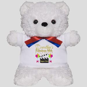CUSTOM 90TH Teddy Bear