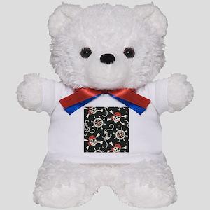 Pirate Skulls Teddy Bear
