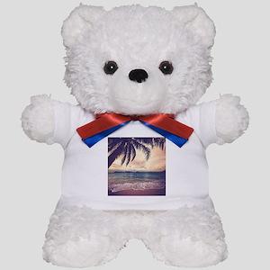 Tropical Beach Teddy Bear