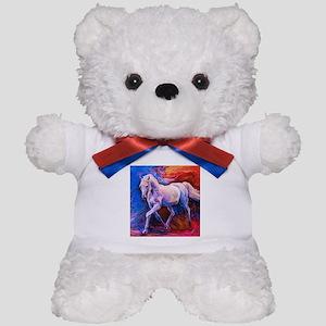 Horse Painting Teddy Bear