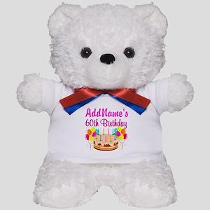 AMAZING 60TH Teddy Bear