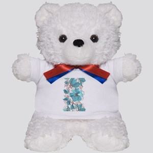Pretty Floral Teddy Bear