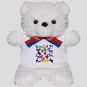 Rainbow Horses Teddy Bear