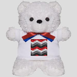Abstract Chevron Teddy Bear
