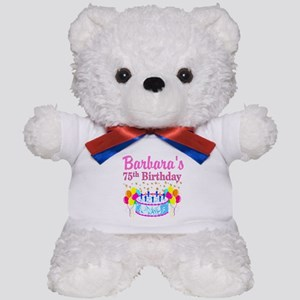 75TH CELEBRATION Teddy Bear