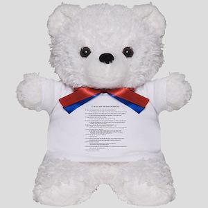 21 Rules & Truisms of Fencing Teddy Bear