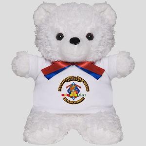 1st Bn - 4th Marines w VN SVC Ribbon Teddy Bear
