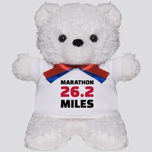 Marathon 26 miles Teddy Bear