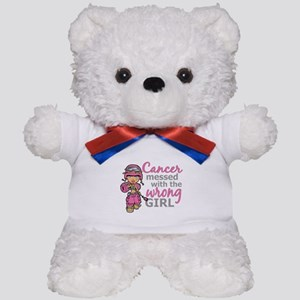 Combat Girl Breast Cancer Teddy Bear