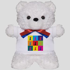 Iaido Pop Art Teddy Bear