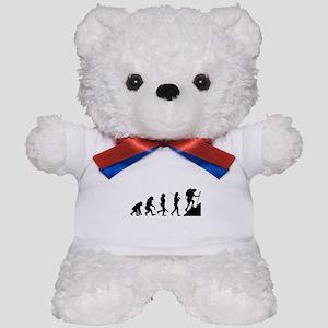 Evolution - Hiker Teddy Bear