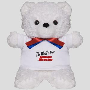 """The World's Best Athletic Director"" Teddy Bear"