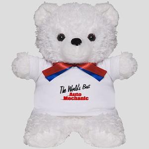 """The World's Best Auto Mechanic"" Teddy Bear"