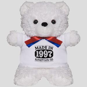 Made in 1997 - Maturity Date TDB Teddy Bear