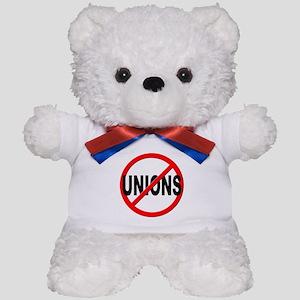 Anti / No Unions Teddy Bear