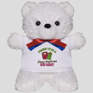 Sleep-Deprived Dad Teddy Bear