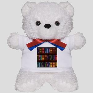 Old Bookshelves Teddy Bear