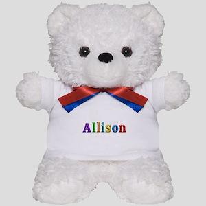 Allison Shiny Colors Teddy Bear