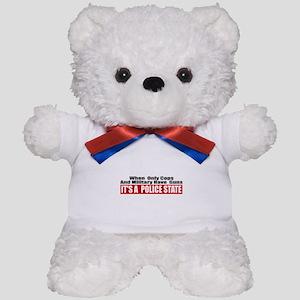Police State Teddy Bear