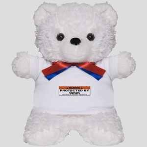 protected by 9mm Teddy Bear
