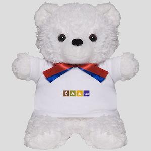 Outdoors Teddy Bear