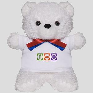 Eat Sleep Air Traffic Teddy Bear