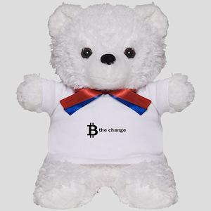 B Be The Change - Bitcoin Teddy Bear