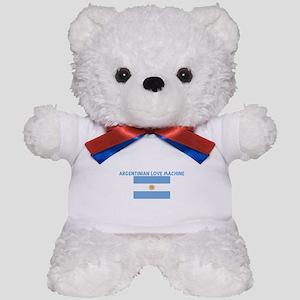 ARGENTINIAN LOVE MACHINE Teddy Bear