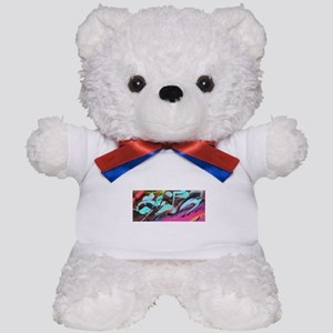 Hyper Abstract painting Teddy Bear