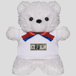 100 Dollar Bill Teddy Bear