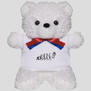 Astronaut Evolution Teddy Bear