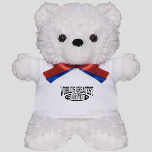 World's Greatest Husband Teddy Bear