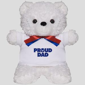 Proud Air Force Dad Teddy Bear