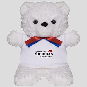 Somebody in Michigan Loves me Teddy Bear