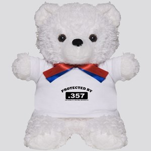property of protected by 357 b Teddy Bear