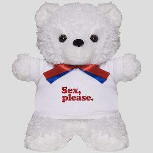 Sex, please Teddy Bear