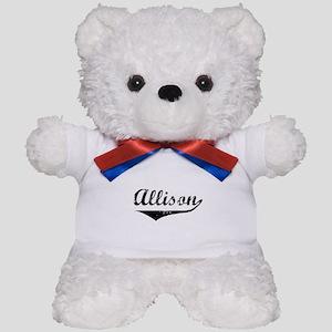 Allison Vintage (Black) Teddy Bear
