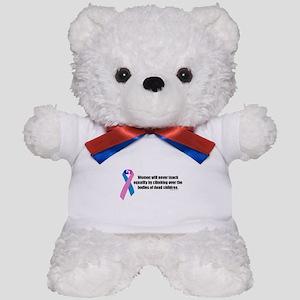 Women Won't Reach Equality Teddy Bear