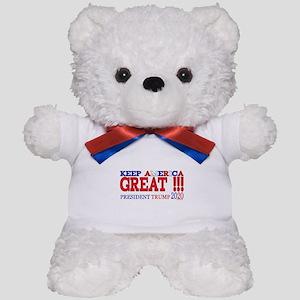 TRUMP | Keep America Great President TR Teddy Bear