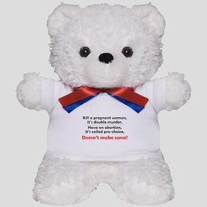 Double Murder Teddy Bear