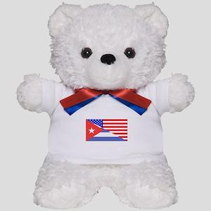 Cuban American Flag Teddy Bear