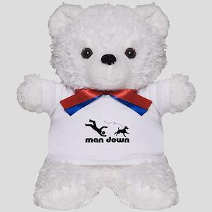 man down airedale Teddy Bear