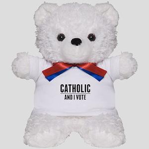 Catholic Voter Teddy Bear