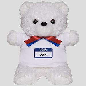 Hello: Ace Teddy Bear