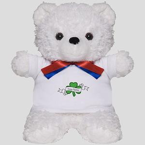Shamrock CUSTOM TEXT Teddy Bear