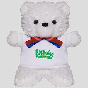 11th Birthday Teddy Bear