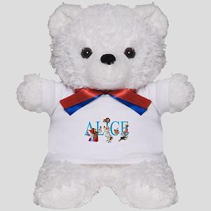 ALICE & FRIENDS IN WONDERLAND Teddy Bear